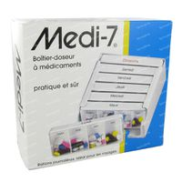 Medi-7 Pilullier Semaine 1 st