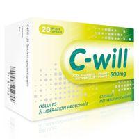 C-Will 500mg - Vitamine C 20  capsules
