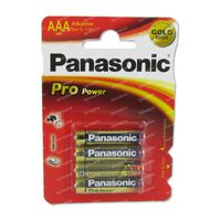 Panasonic Batterij Lr03 1,5V 4 st