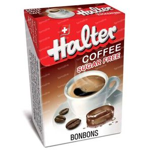 Halter Bonbon Coffee Sugar Free 40 g