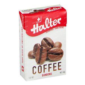 Halter Bonbon Cafe Sans Sucre 40 g
