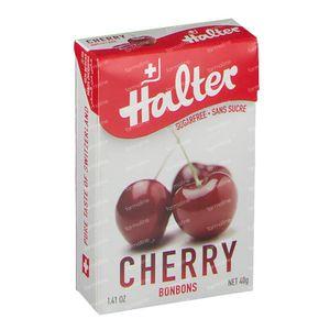 Halter Bonbon Kersen Suikervrij 40 g