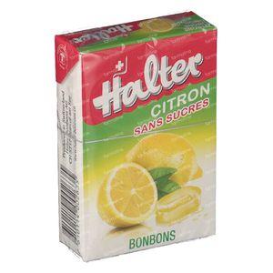 Halter Bonbon Citroen Suikervrij 40 g