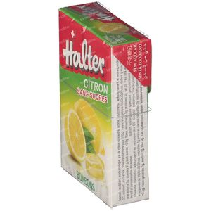 Halter Bonbon Citron Sans Sucre 40 g