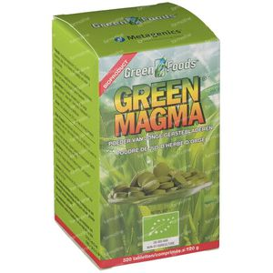 Green Magma 320 St compresse