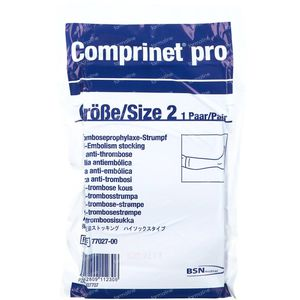 Comprinet Pro Knie Kous Anti-Trombose T2 77027 1 stuk