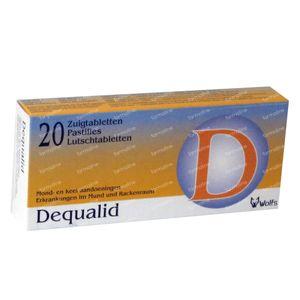 Dequalid 20 zuigtabletten