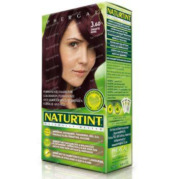Naturtint Permanente Haarkleuring Zwarte Kers 3.60 160 ml