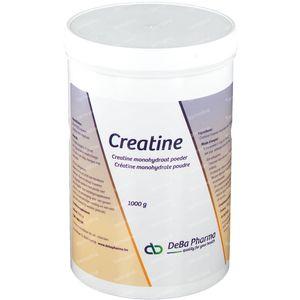 Deba Creatine Monohydraat Poeder Oplosbaar 1 kg