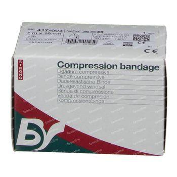 Compressie 417 Strong Bande 10cm x 7m + 2 Clips Zeno 1 st