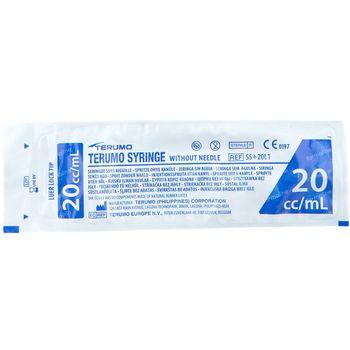 Terumo Seringue Sans Aiguille Luer Lock 20ml SS20L 1 st