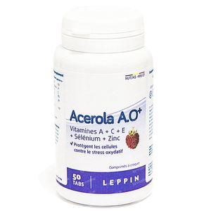 Leppin Acerola A.O Plus 50 comprimés