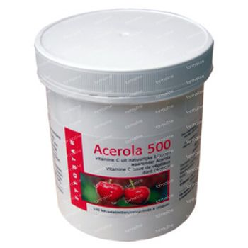 Fytostar Acerola Vit C 500 100 comprimés