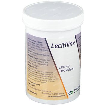 Deba Lecithine 1200mg 300 capsules