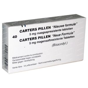 Carter 5mg 40 dragees