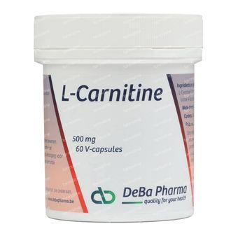Deba L-Carnitine 500 mg 60 Kaps. 60 kapseln
