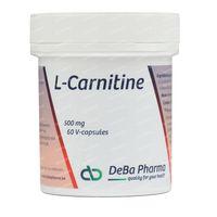 Deba L-Carnitine 500mg 60  capsules