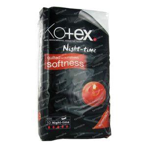 Kotex Night Time Maxi 10 10 stuks