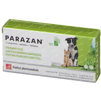 Parazan Chien et Chats 2 comprimés