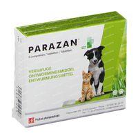 Parazan Chiens et Chats 6  comprimés