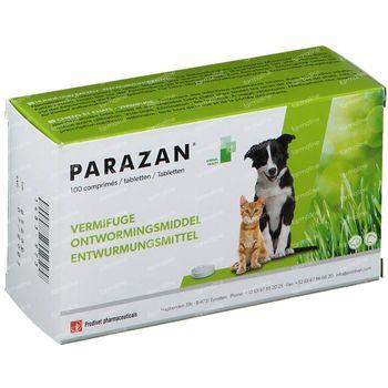 Parazan Chiens et Chats 100 comprimés