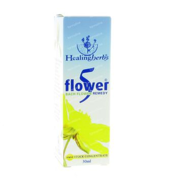 Healing Herbs 5 Flowers Remedy 30 ml