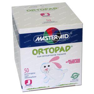 Ortopad White Junior Eye Plaster 50 St