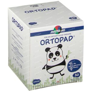 Ortopad Wit Junior Pans Oculaire 50 pièces