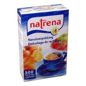 Natrena Refill 500 St Comprimidos