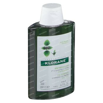 Klorane Talgregulerende Shampoo Brandnetel 200 ml