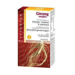 Fytostar Ginseng Complex 45 St Capsules