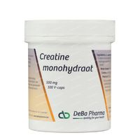 Deba Creatine Monohydraat 500Mg 100  capsules