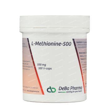 Deba L-Methionine + B6 500mg 100 capsules
