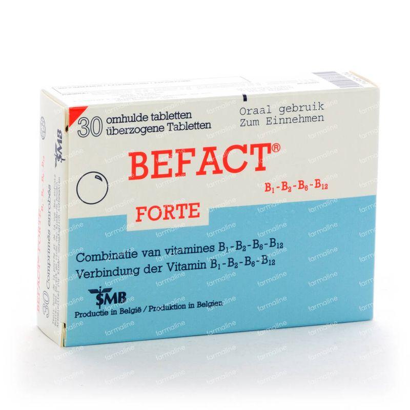 Befact Forte 30 tabletten hier online bestellen   FARMALINE.be