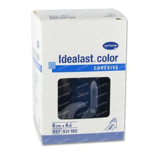 Hartmann Idealast Color Cohesive Blue 8cm x 1m (9311821) 1 item