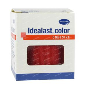 Hartmann Idealast Color Cohesive Red 6cm x 4m (9311861) 1 item