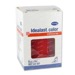 Hartmann Idealast Color Cohesive Red 8cm x 4m (9311871) 1 item