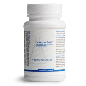 Biotics Intenzyme Forte 100 tabletten