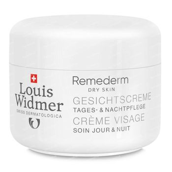 Louis Widmer Remederm Crème Visage Sans Parfum 50 ml