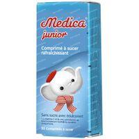 Medica Comprimés pour la Gorge Junior sans Sucre 30  comprimés à sucer