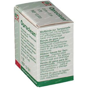 Opraclean  Iodoform 2Cm x 5M  13581 1 item