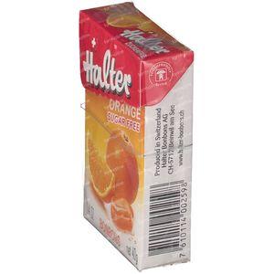 Halter Bonbon Orange Sugar Free 40 g
