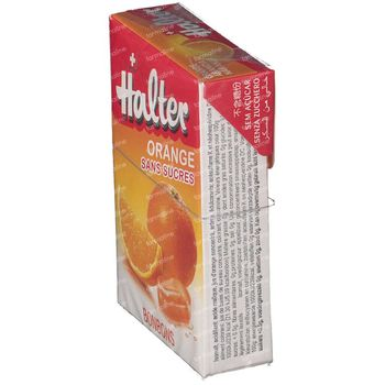 Halter Bonbon Orange Sans Sucre 40 g