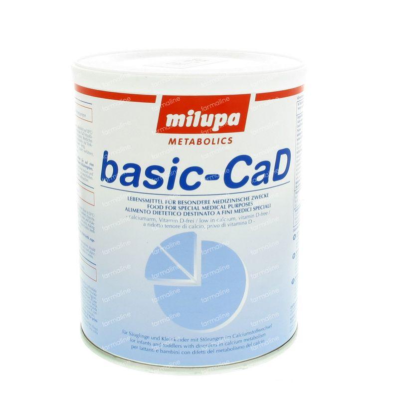 milupa basiccad 400 g vente en ligne