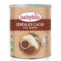 Babybio Céréales Cacao +8 Mois 220 g