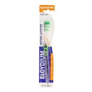 Elgydium Brosse à Dents Inter-Active Medium 1 pièce