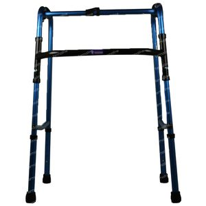 Homecare Déambulateur Pliable Bleu W2300003002 1 pièce