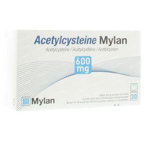 Acetylcysteïne Mylan 600mg 30 zakjes
