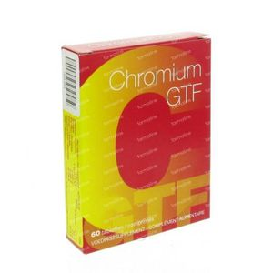 Chromium GTF 60 stuks Comprimés