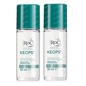 RoC Keops Deodorant Roller Reduced Price 2x30 ml